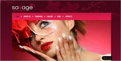 Creative Beauty Salon Drupal Template