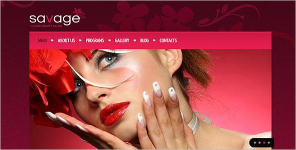 Creative Beauty Salon Drupal Template
