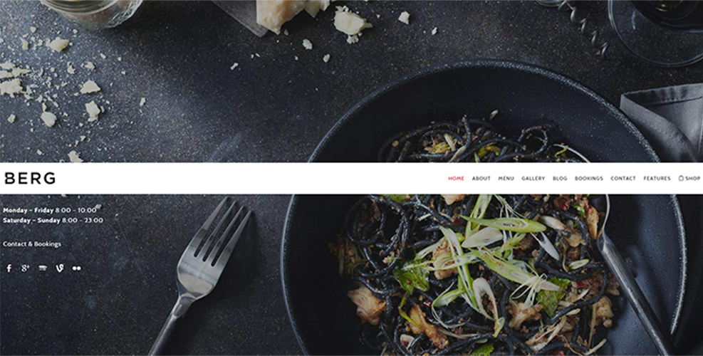 Beautiful WordPress Theme For Restaurant