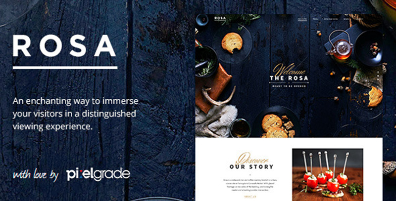 Best Rated WP Restaurant Theme