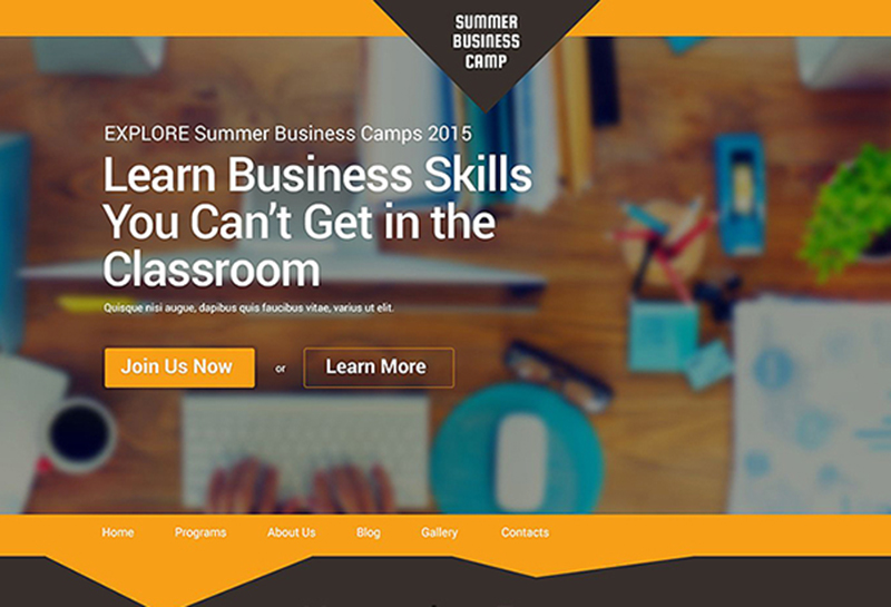 Fully Editable Business WP Template