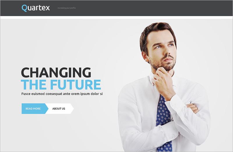 Professional Business WordPress Template