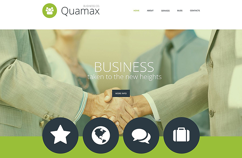 Responsive WordPress Business Theme