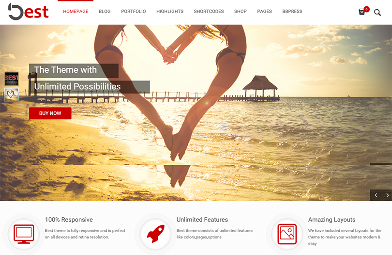 SEO Compatibility WordPress Business Theme