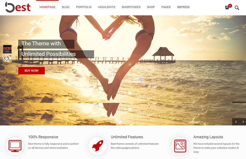 SEO Compatibility WordPress Business Theme