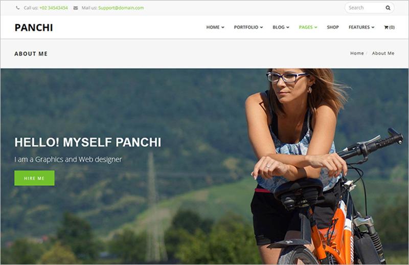 WordPress Business Portfolio Template