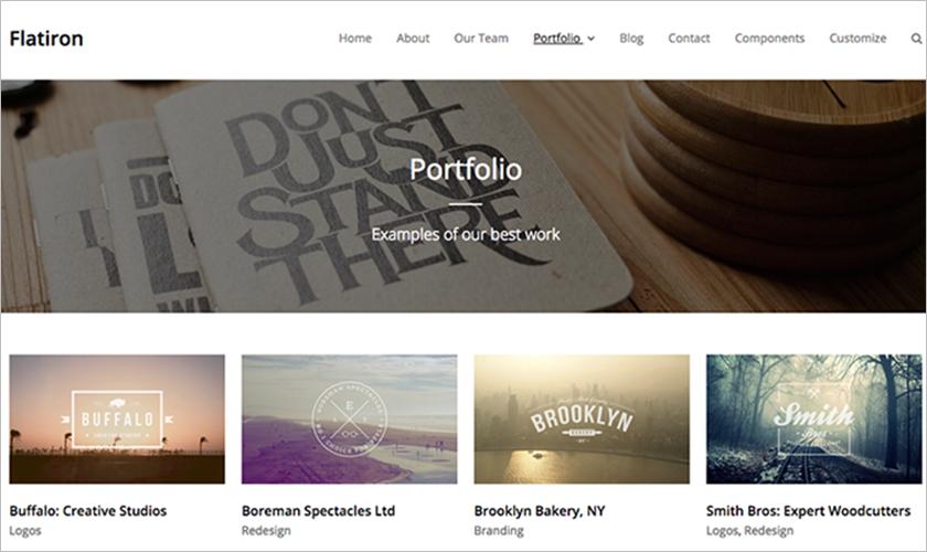 WordPress Responsive And Modern Design Business Template