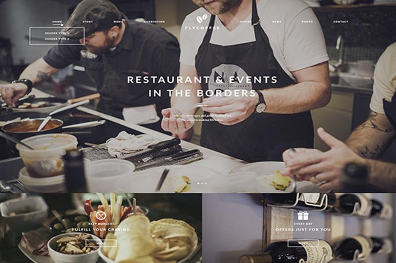 WordPress Restaurant Theme 2015