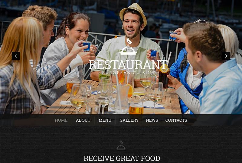 WordPress Restaurant Theme With Multiple Color Options