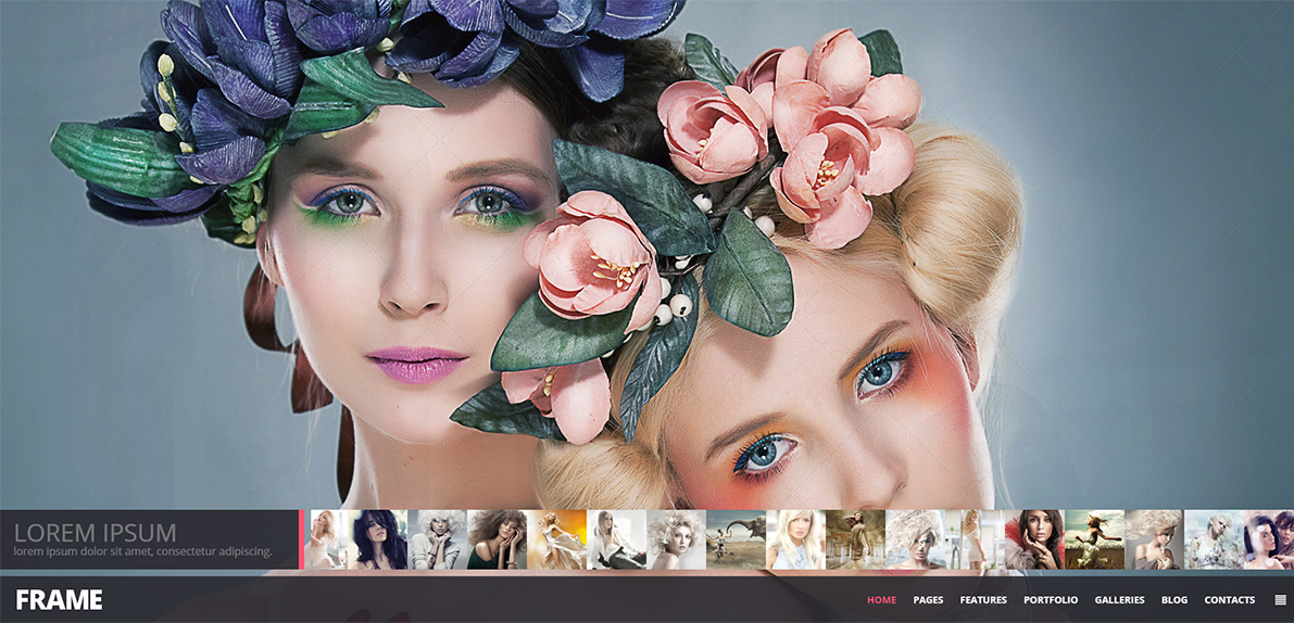 2015 Photography Responsive FullScreen Website Template