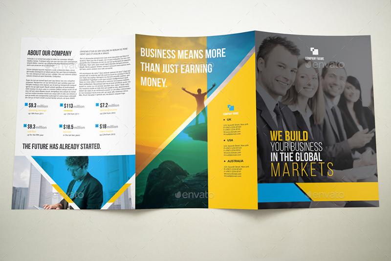 A4 Tri-fold Brochure Template