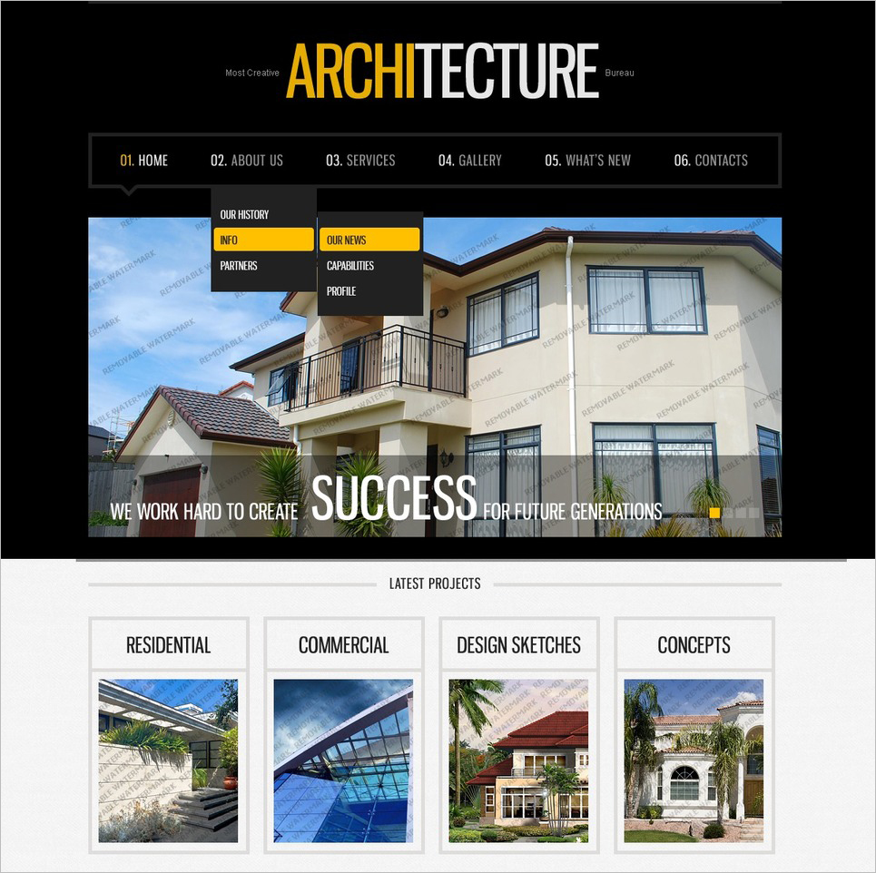 Architecture WordPress Theme for Free