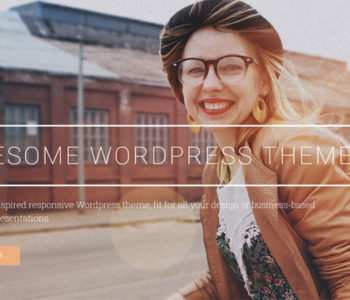 Awesome WordPress Template
