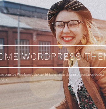 Awesome WordPress Template