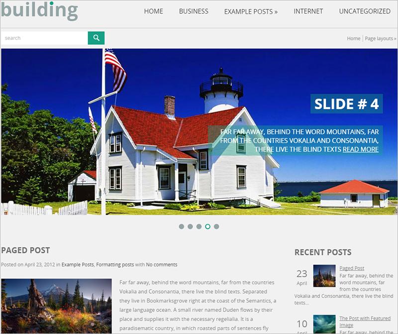 Beautiful WordPress Theme For Real Estate