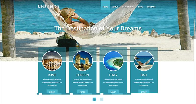 Best Travel Destination WordPress Theme