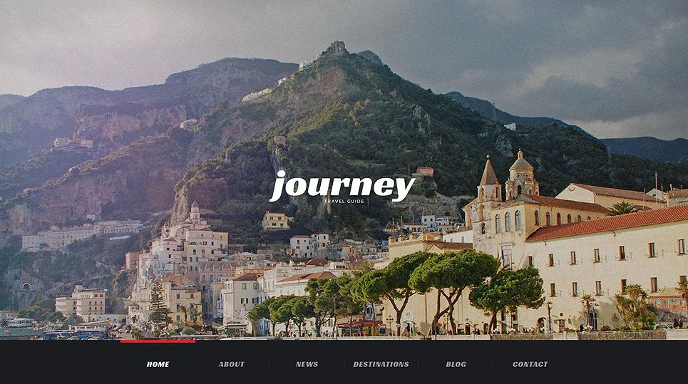 Best Travel WordPress Template