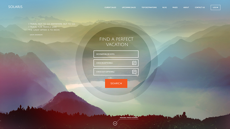 Best Travel WordPress Theme 2015