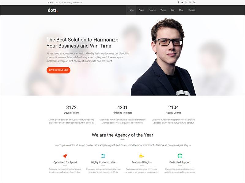 Business HTML Website Template