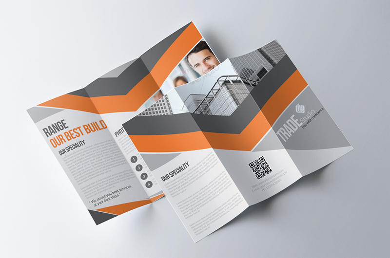 Business Tri Fold Brochure for Corporate Product