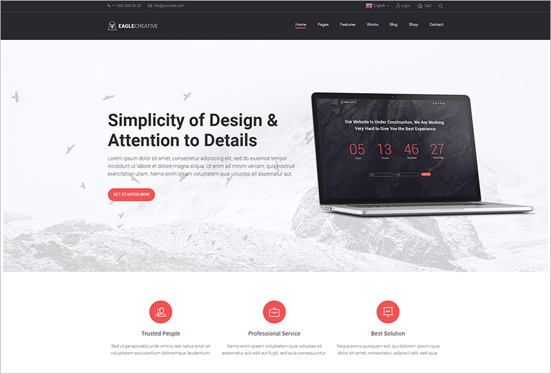 Creative Business Website Template