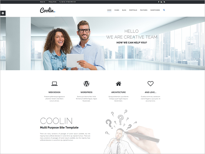 Creative Multi Purpose Business Website Template