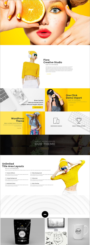 Creative WordPress Responsive Theme