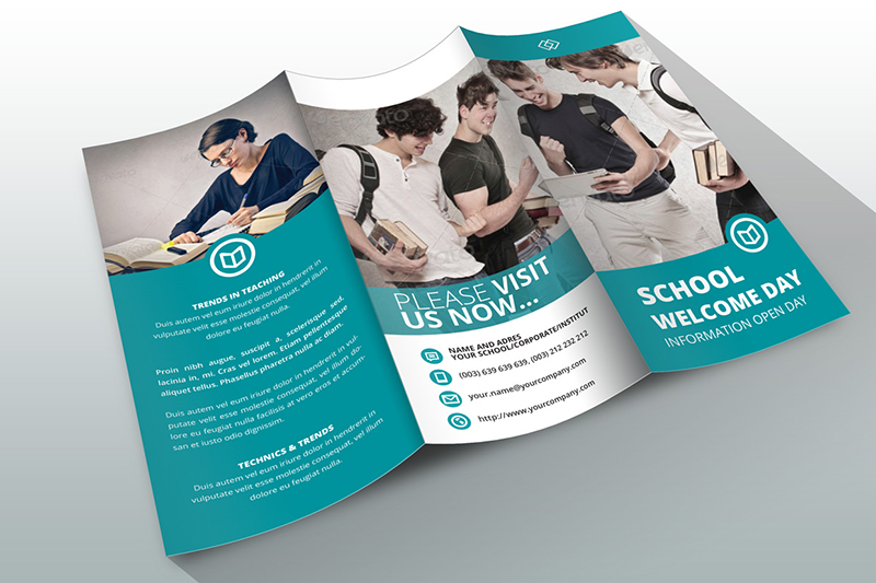 Education Tri Fold Brochure Template