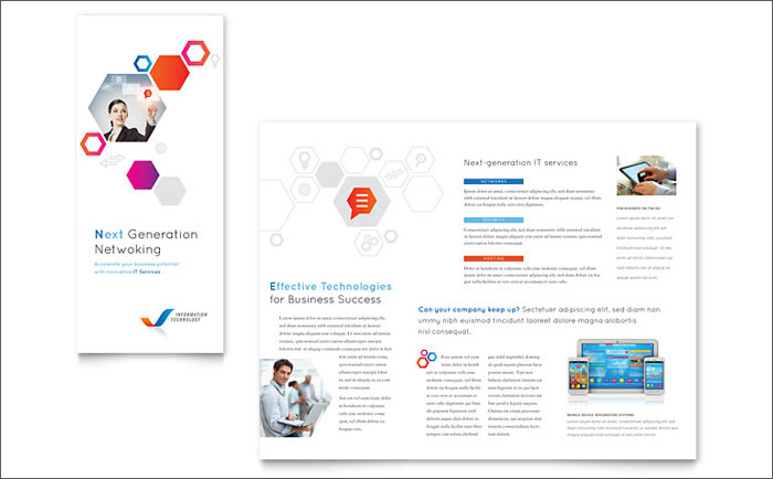 Eye-Catching Tri Fold Brochure Free Download