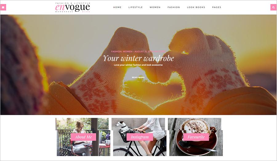 Fashion & Lifestyle WordPress Blog Theme