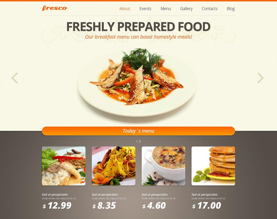 Food & Restaurant Joomla Website Template