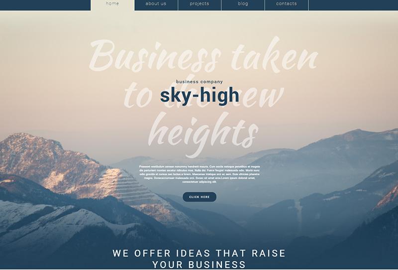 Full Screen WordPress Theme For Portfolio