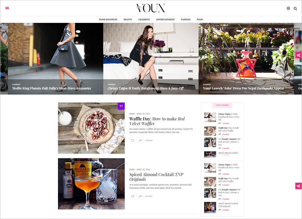 Fully Customizable News WordPress Templates