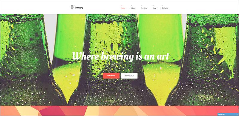 Fully Editable Full Screen WordPress Theme