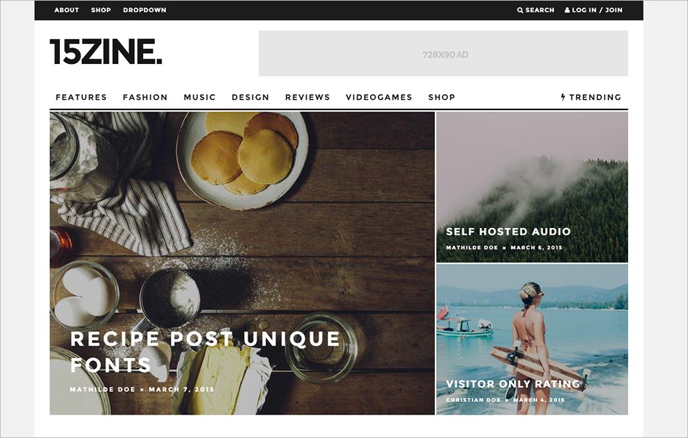 Fully Responsive Magazine Newspaper WordPress Theme
