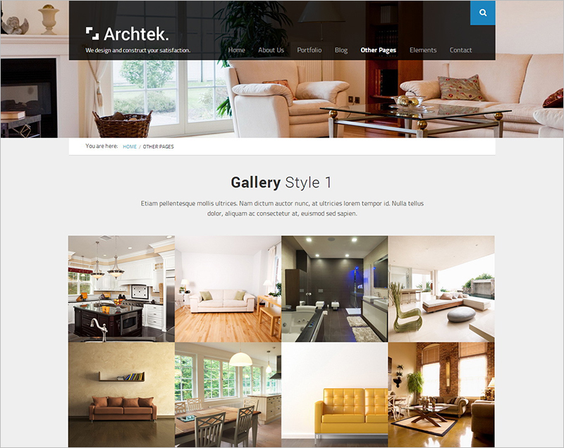 Fully Responsive Modern Template for CorporateBusiness Website