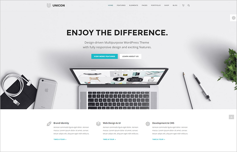 Fully Responsive Multipurpose WordPress Theme