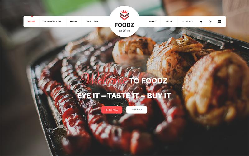 Fully Responsive Restaurant Joomla Template
