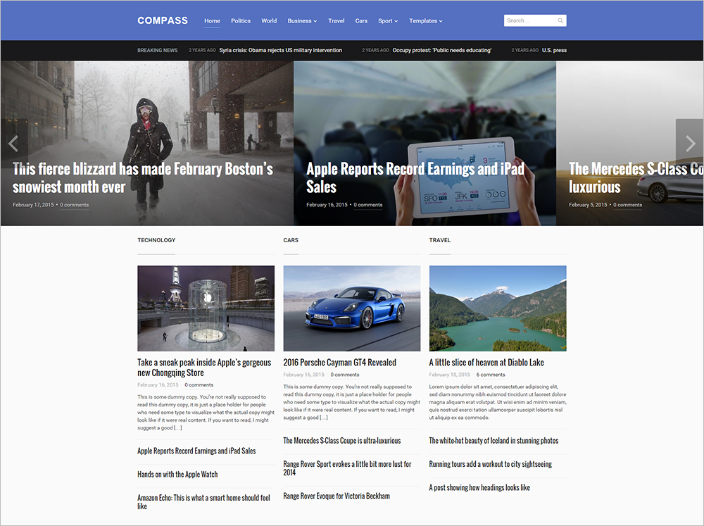 Highly Customizable Magazine WordPress Theme