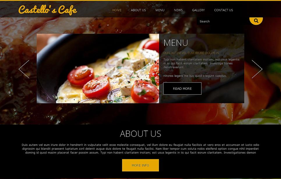 Hot Restaurant Joomla Template