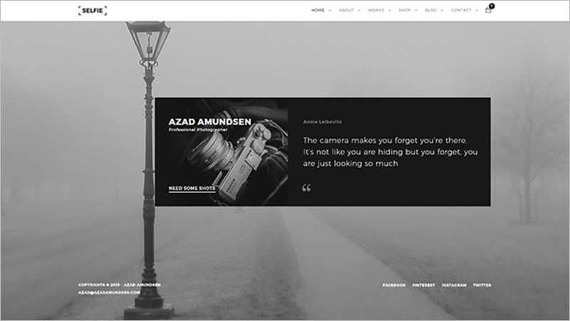 Latest Photography HTML Template