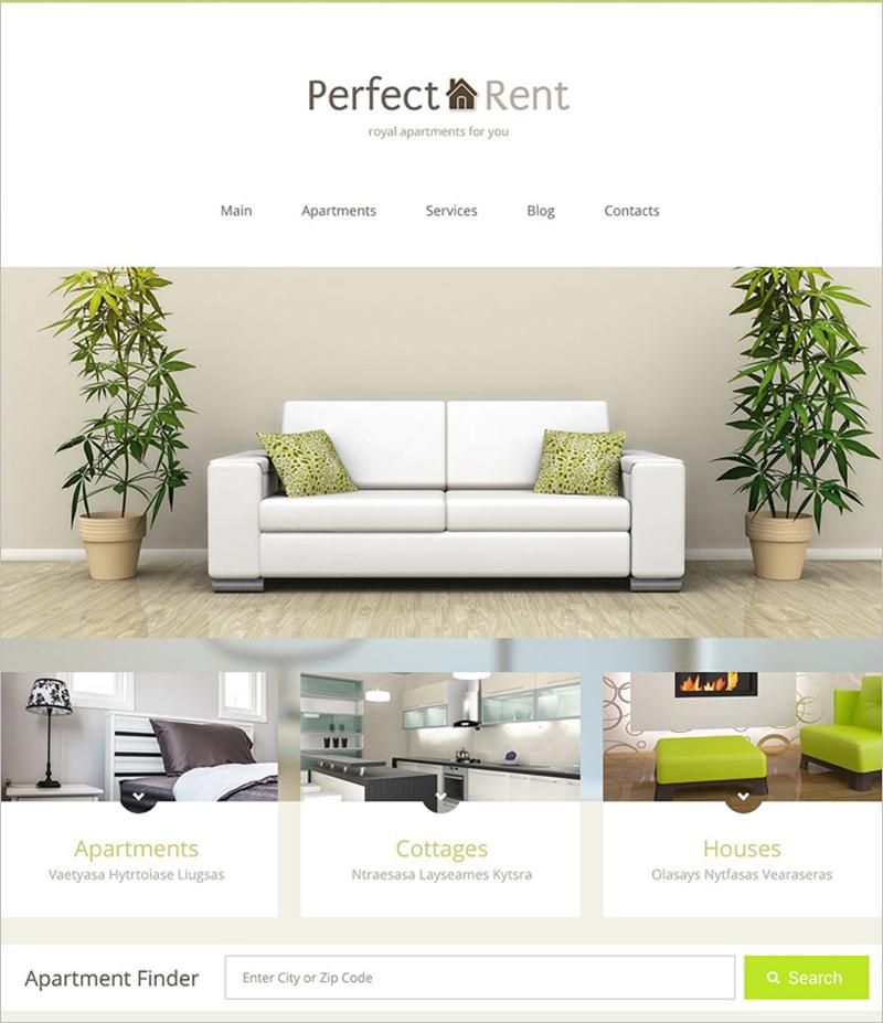Latest WordPress Theme For Rental