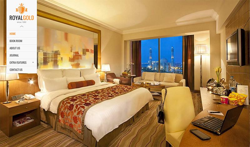 Luxury Hotel Responsive WordPress Theme