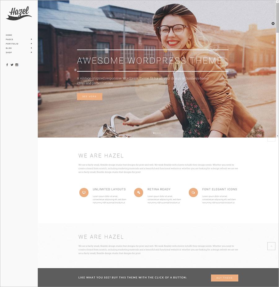 Multi-Concept Creative WordPress Theme