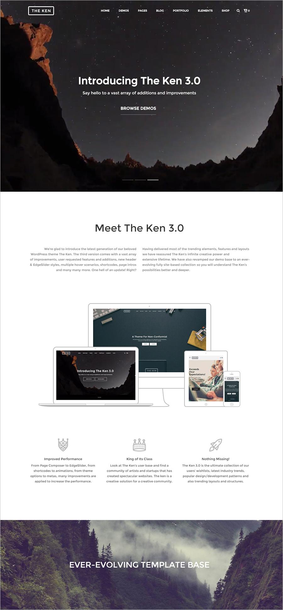 Multi-Purpose Creative WordPress Theme