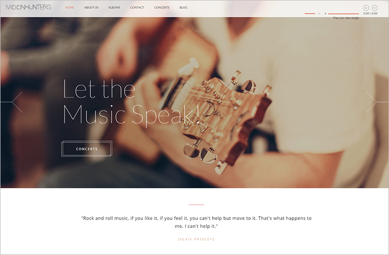 Multi Purpose One Page HTML5 Website Template