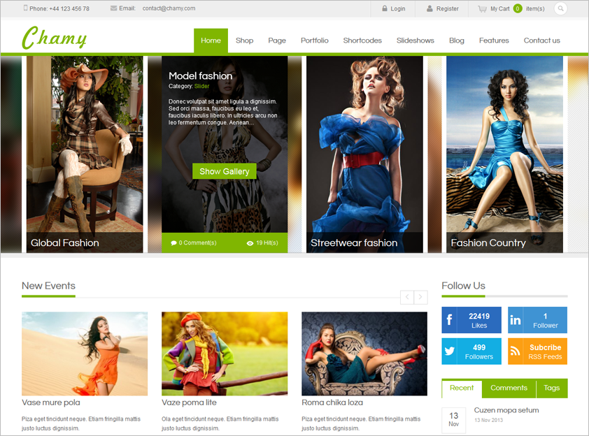 Multipurpose Fully Responsive WordPress Theme