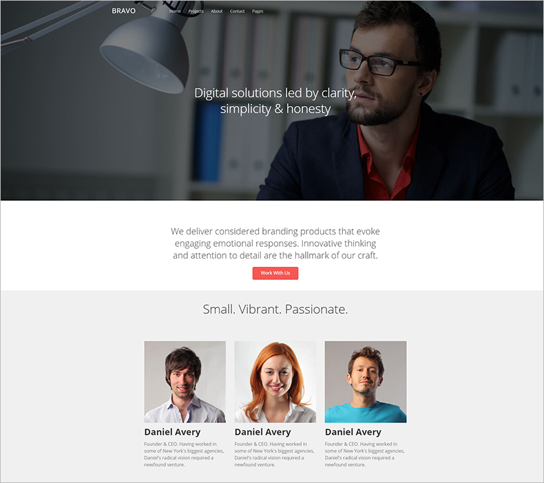 Multipurpose HTML Business Website Template
