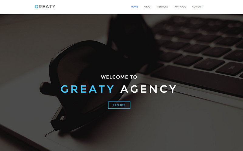 Multipurpose One Page HTML5 Template for Corporate websites
