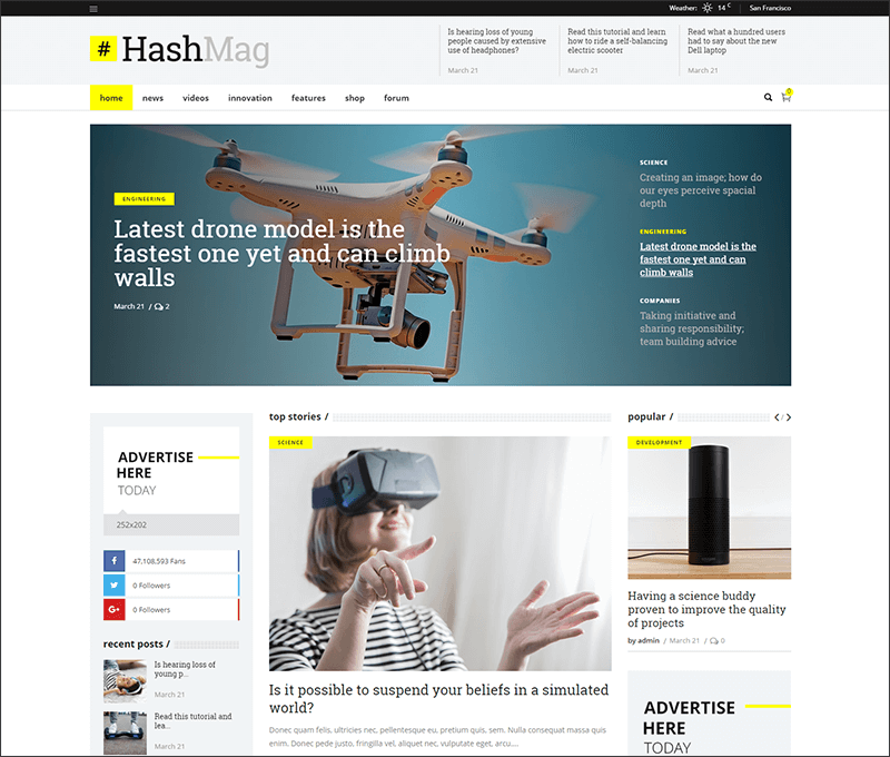 New High-End Digital Magazine